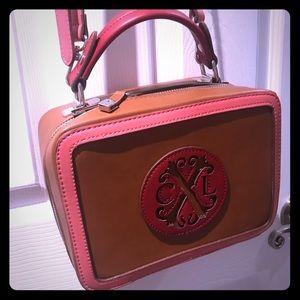 Christian Lacroix crossbody box purse!